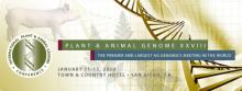 Flier for the Plant and Animal Genome Conference 2020